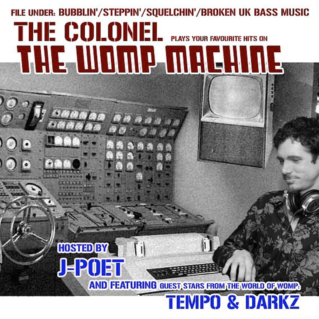 The Colonel 'The Womp Machine' cover art.