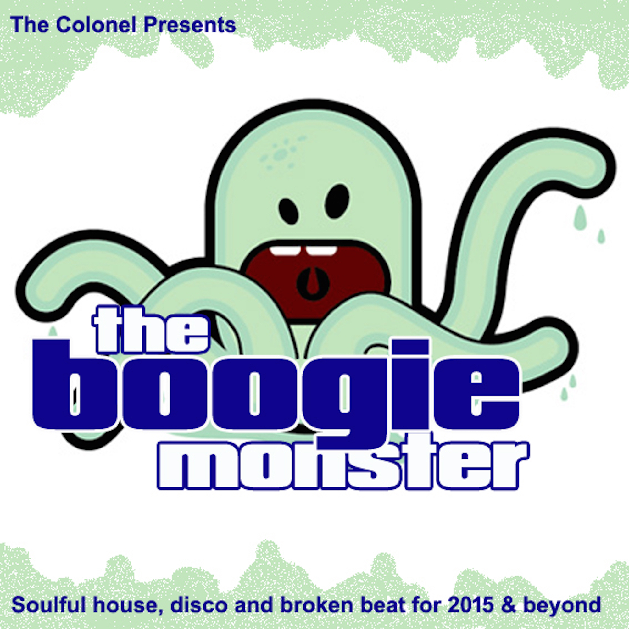 The Colonel 'The Boogie Monster' cover art.