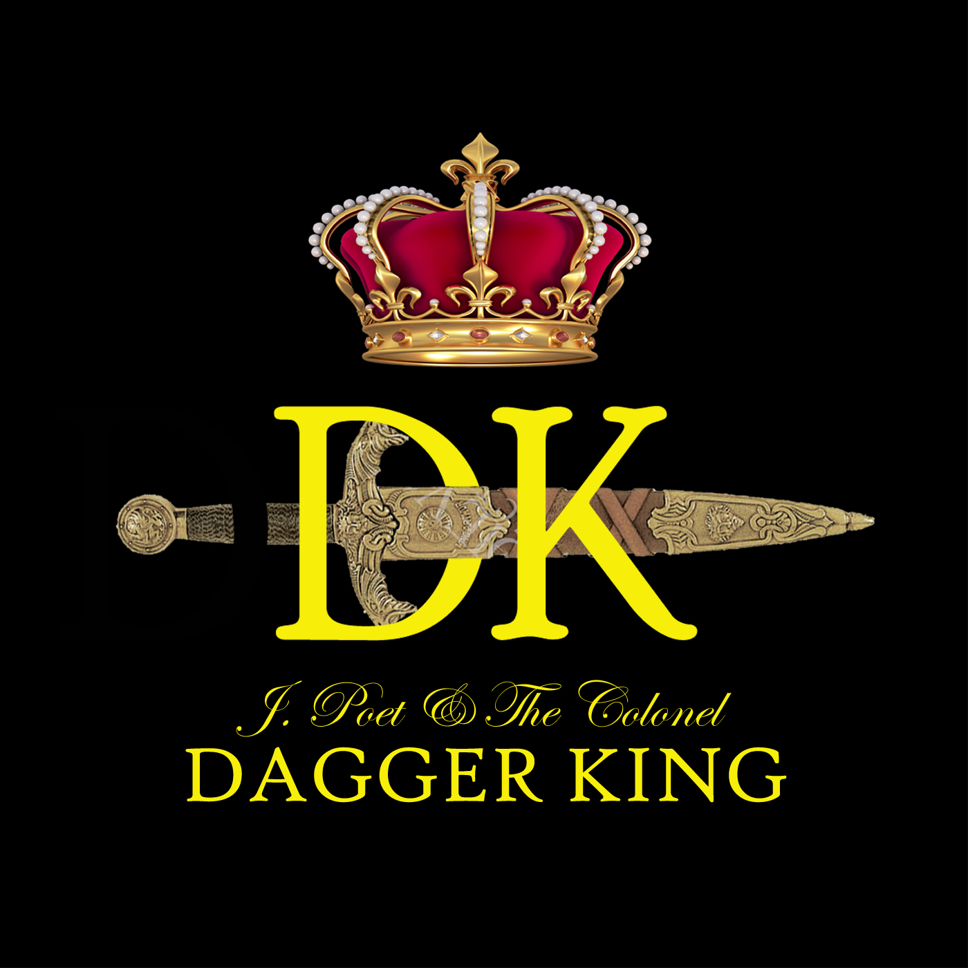 J.Poet & The Colonel - 'Dagger King' Cover Art